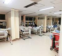 HCU内のベッド